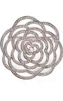 Nadri Open Flower Pin - Lyst