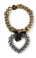 Lanvin Heart Necklace - Lyst