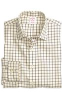 Brooks Brothers Noniron Regular Fit Windowpane Sport Shirt - Lyst