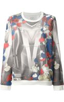 Ground Zero Geometric Print Sweater - Lyst