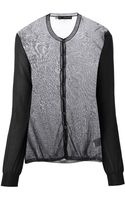 DSquared2 Sheer Cardigan - Lyst