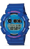 G-shock Blue Xl Watch 55mm - Lyst