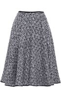 Giambattista Valli Tweed Lurex Round Skirt - Lyst