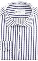 Robert Graham David Striped Jacquard Sport Shirt - Lyst
