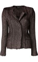 Isabel Marant Tweed Herringbone Jacket - Lyst