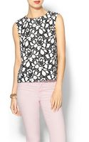 Diane Von Furstenberg Betty Lace Shell Top - Lyst