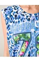 Philipp Plein Logo Print Tank Top - Lyst