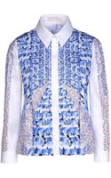Peter Pilotto Long Sleeve Shirt - Lyst