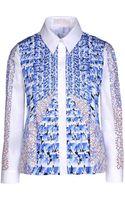 Peter Pilotto Long Sleeve Shirt - Lyst