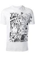 McQ by Alexander McQueen Manga Rabbit Tshirt - Lyst