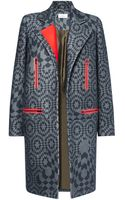 Preen By Thorton Bregazzi Mace Coat - Lyst