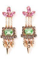Mawi Crystal Drop Earrings - Lyst