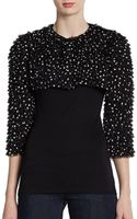 Dolce & Gabbana Ruffled Silk Bolero - Lyst