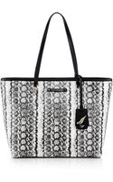 Diane Von Furstenberg Sutra Ready To Go Printed Coated Canvas Tote - Lyst