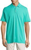 Robert Graham Numero Knit 3-button Polo Shirt - Lyst