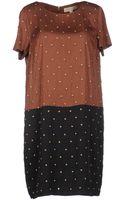 MICHAEL Michael Kors Short Dress - Lyst