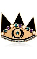 Maria Francesca Pepe Eye Graffiti Collection Pin - Lyst