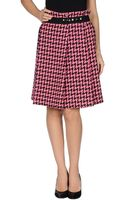 Tricot Comme Des Garcons Knee Length Skirt - Lyst