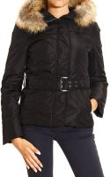Peuterey Jacket Paradigma Ox Medium Cordura with Hood Fur and Belt - Lyst