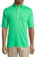 Peter Millar Cotton Polo Shirt - Lyst