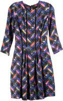 Cynthia Rowley Derby Dress with Elbow Sleeve - Lyst