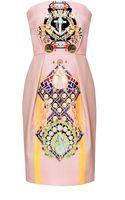 Mary Katrantzou Olympia Printed Silk and Cottonblend Dress - Lyst