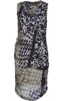 Manila Grace 34 Length Dress - Lyst