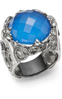 Stephen Webster Natural Agate Iolite  Sterling Silver Ring - Lyst