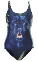 We Are Handsome The Pantherprint Swimsuit - Lyst