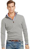 Polo Ralph Lauren Cashmere Half Zip Sweater - Lyst