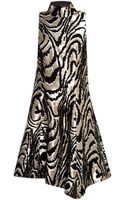 Proenza Schouler Flock Printed Embroidery Sleeveless Dress - Lyst