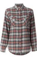 Etoile Isabel Marant Vadisse Checked Shirt - Lyst