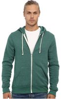 Alternative Apparel Rocky Zip Hoodie - Lyst