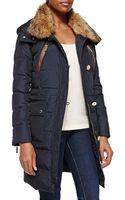 MICHAEL Michael Kors Fur-trim Puffer Coat - Lyst
