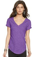 Polo Ralph Lauren Cotton Jersey V-neck Tee - Lyst
