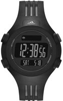 Adidas Performance Unisex Digital Questra Black Polyurethane Strap Watch 42mm - Lyst