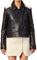 American Retro Jacket Elvis Biker - Lyst