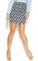 Inc International Concepts Printed Ponte Pencil Skirt - Lyst