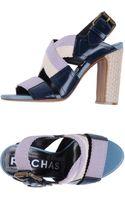 Rochas Highheeled Sandals - Lyst