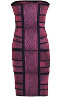 Christopher Kane Elastic Cinch Bandeau Dress - Lyst