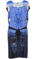 Versace Knee-length Dress - Lyst