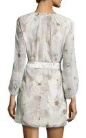 Diane Von Furstenberg Davina Floralprint Shift Dress - Lyst