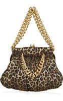 Christian Louboutin Loubinette Leopard-print Bag - Lyst