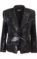 Balmain Sequined Denim Jacket - Lyst