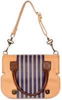 Proenza Schouler Canvas and Calf Folded Shoulder Bag - Lyst