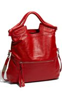 Foley + Corinna Mid City Foldover Leather Tote - Lyst