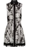 Proenza Schouler Sleeveless Printed Shirt Dress - Lyst