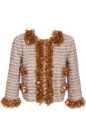 Marc Jacobs Heavily Embellished Wool-blend Jacket - Lyst