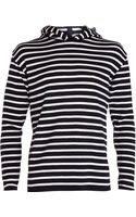 S.N.S Herning Nautical Striped Hooded Sweater - Lyst