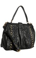 Matt & Nat Black Karen Studded Frame Tote Bag - Lyst